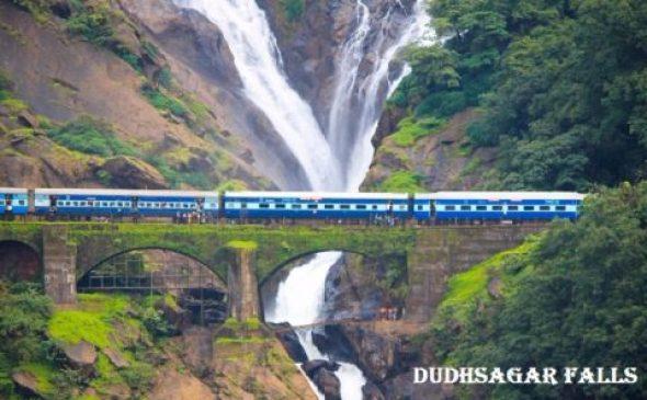 दूधसागर झरना के बारे में जानकारी Dudhsagar Falls Information In Hindi