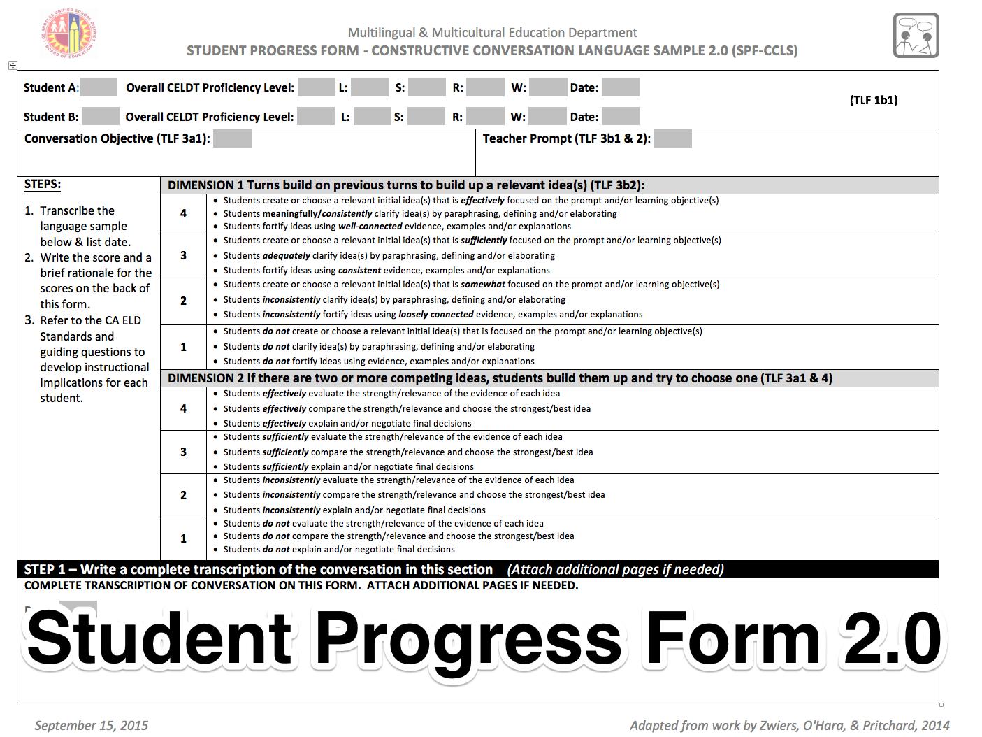 English Learner Instruction Designated Eld