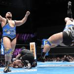 NJPW G1 CLIMAX 27 新潟・アオーレ長岡大会 執念のバーニングハンマーで勝利!超人がまた一人現れる!