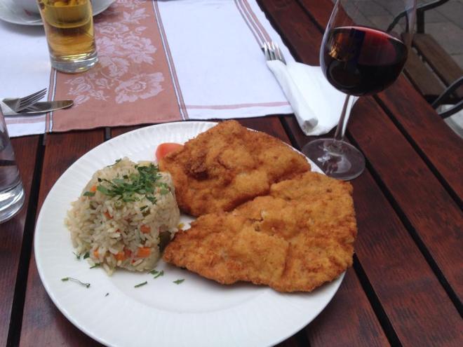 A Wiener Schnitzel