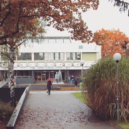 Entrance to the University of Klagenfurt