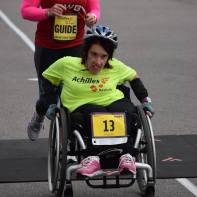 Amy Saffell running the Hope and Possibility Race