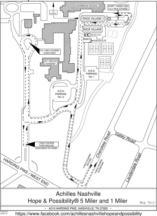 Race Village Map