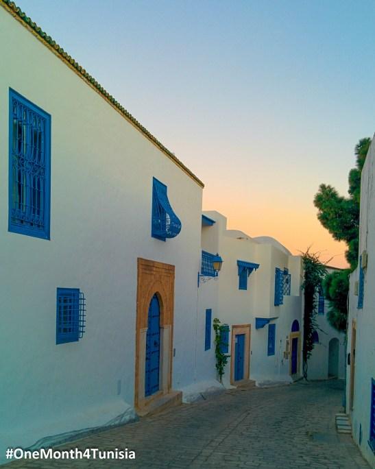 #OneMonth4Tunisia - Post17 تمشى و دور في هذه الأزقة كل ما تجيك الفرصة و شبع عينيك من متعة هذا المعمار الرائع على خاطر الزين و الرونق هذا ما تلقاهمش في حتى بلاصة أخرى <3 You will never get bored of hanging out between those tiny streets of Sidi Bousaid ^_^ Place: Tunis | Achraf Aouadi ©