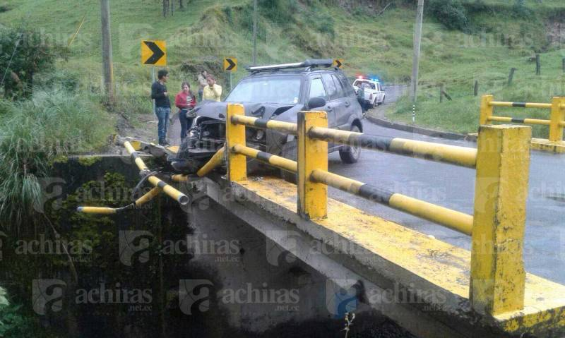 Accidente vía Girón - San Fernando | Foto: Cortesía