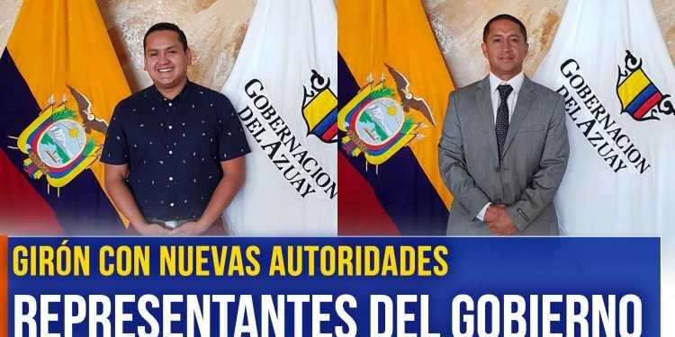 Girón con nuevas autoridades representantes del gobierno