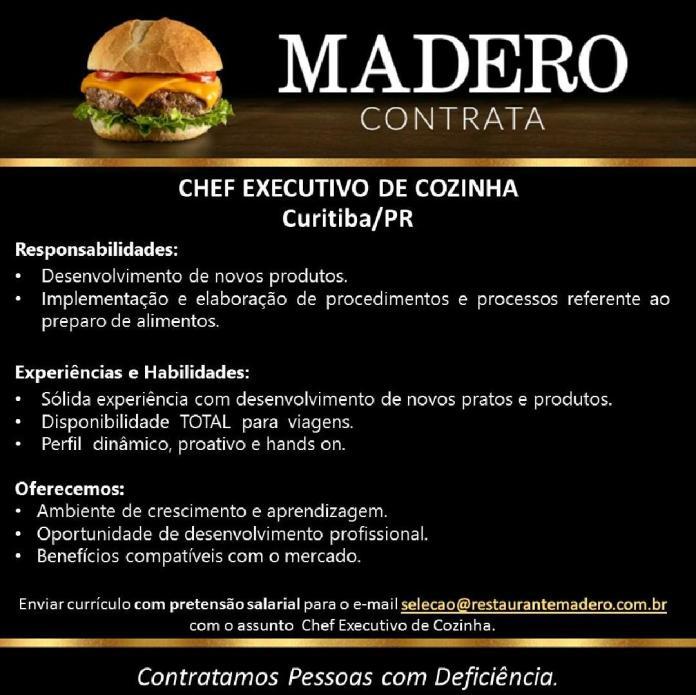 Emprego Cozinha Curitiba