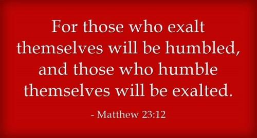 Humility and Love