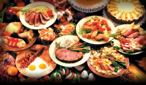 Image result for feast rich foods