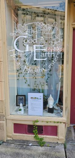 The Good Earth Holistic Health Center storefront