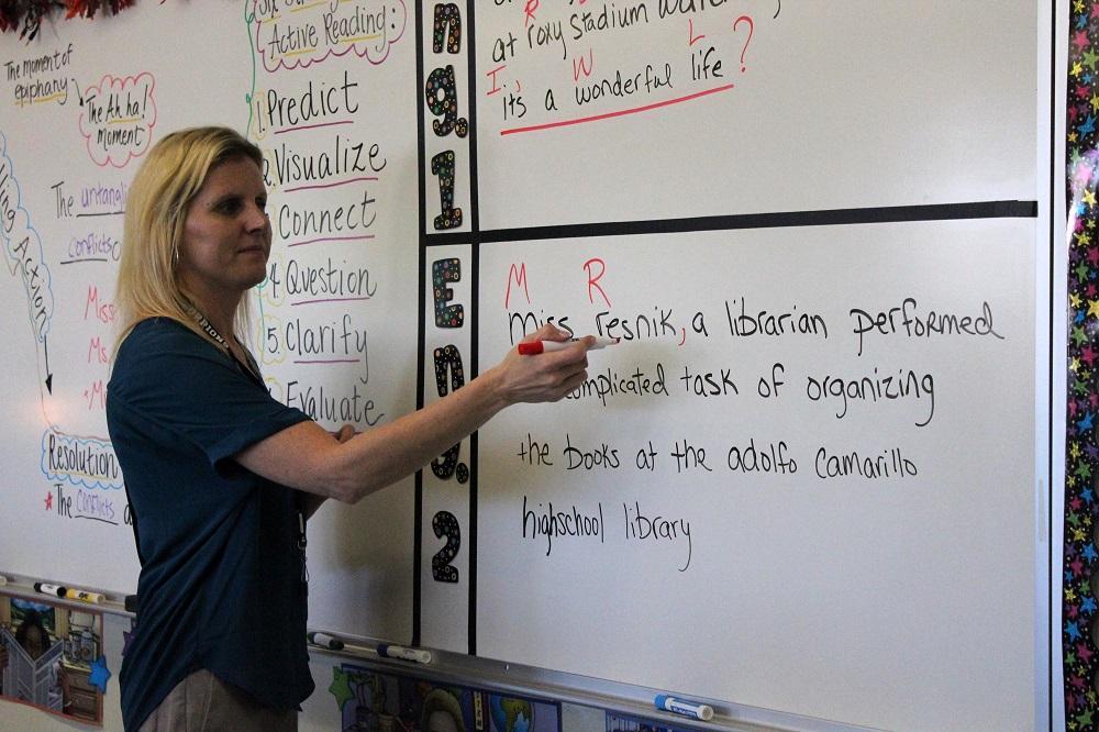 Ms. Dawn Cassity replaces Ms. Heidi Resnik