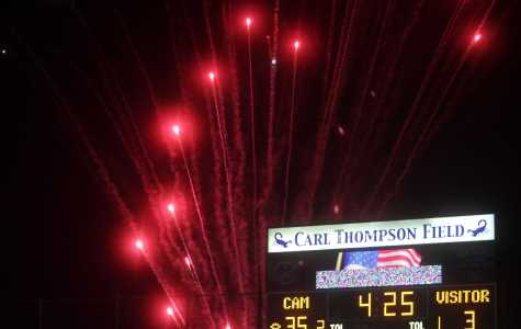 Cam High Football Ends Losing Streak at Homecoming Game