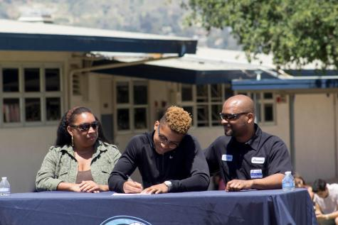 Student Athletes Commit to Colleges [slideshow]