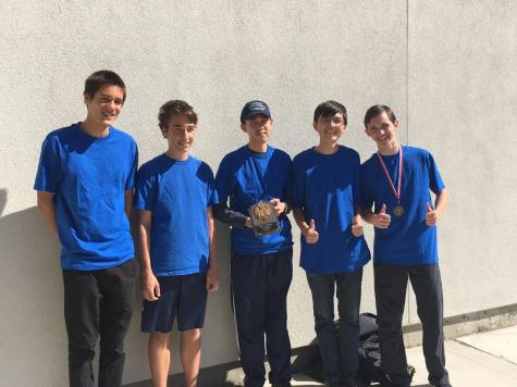 Cam High's Math Club Places First in their First Competition