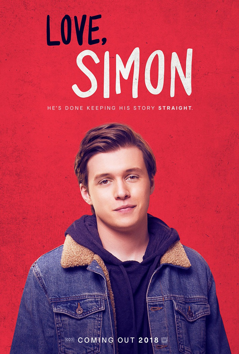 Provided By: http://www.joblo.com/movie-posters/2018/love-simon The Love, Simon movie poster.