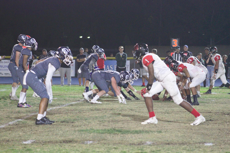 On Nov. 2, 2018, Cam High's varsity football team played against Rio Mesa.
