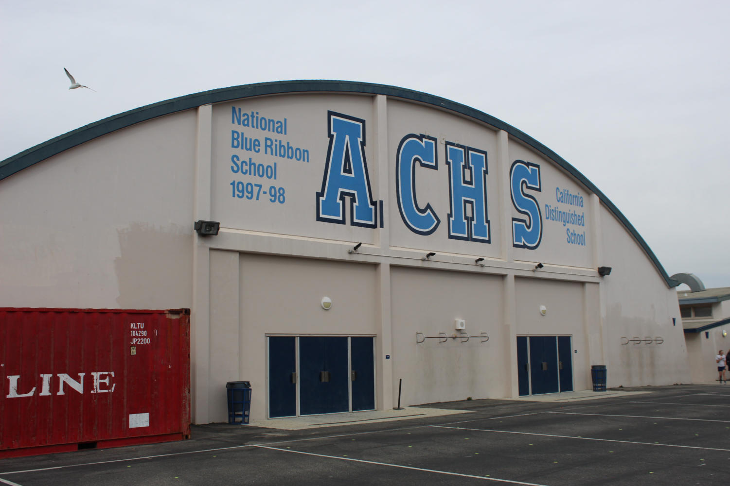 The Cam High gym, where dances are typically held.