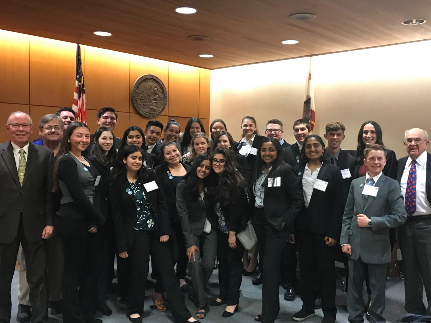 This year, Cam High's mock trial team placed 6th out of 30 teams.