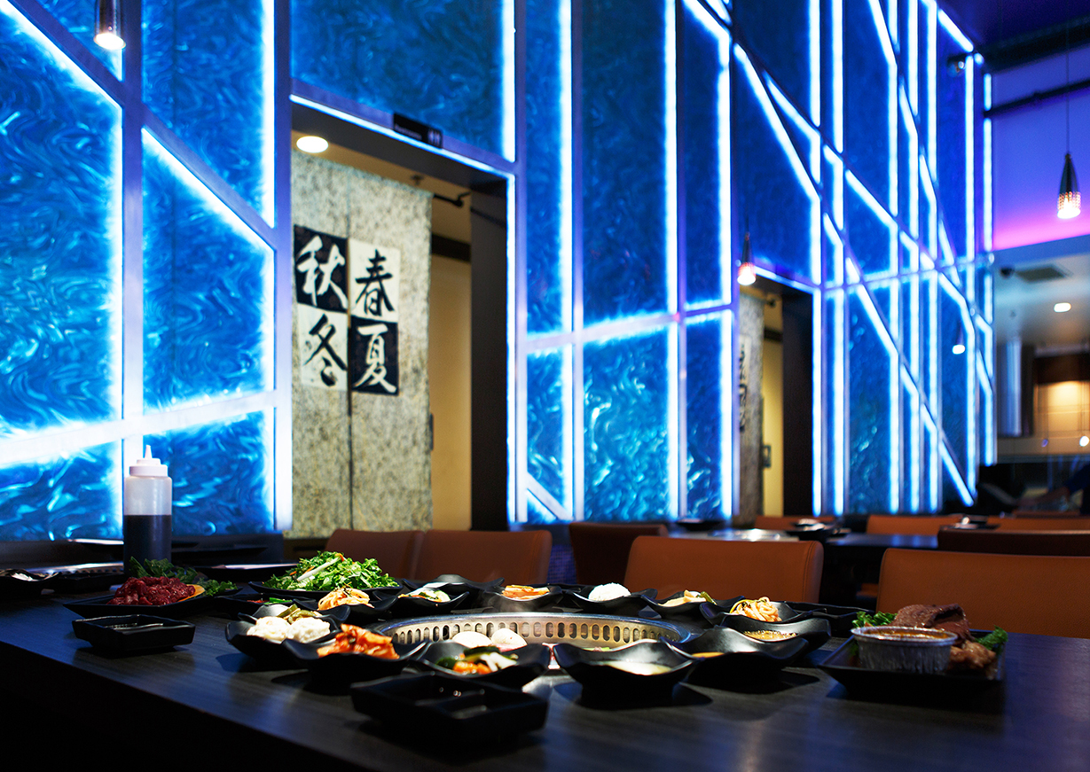 Gen Korean BBQ is a Korean BBQ restaurant that serves buffet dishes that you cook on your own with a burner in the middle of your table.