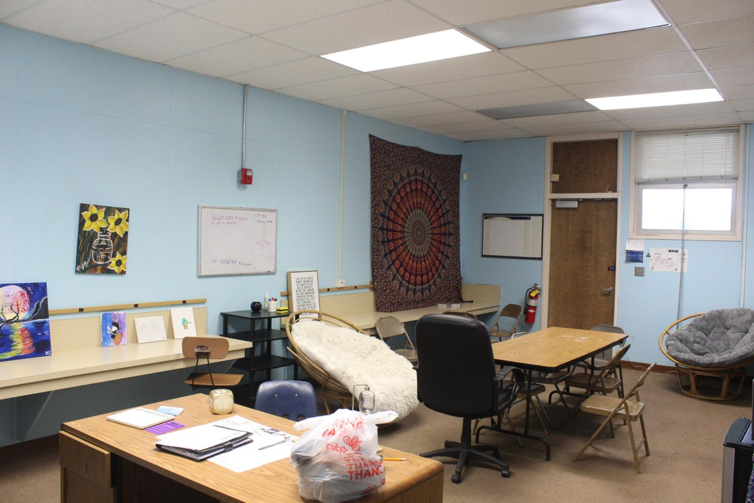 Cam High's Wellness Center, run by Ms. Ida Young, provides support to students who need help.