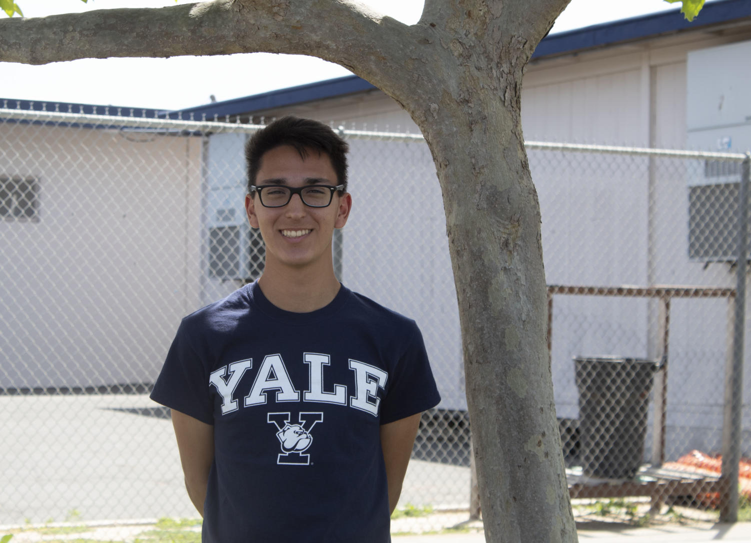 Aidan Cabral will graduate with the class of 2019 this year.