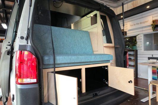 David's Long Wheel Campervan