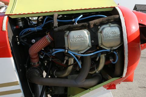 "Progressing upwards is the Super Cub's most common engine, the 150 HP Lycoming O-320. Some versions - most notably those used in mountaneous areas such as the Alps - have been uprated to 180 HP, a pretty chunky amount of power for the light and ""lifty"" Super Cub"
