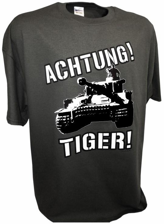 Achtung Tiger Tank Ww2 German Panzer Tanks - Achtung T ...