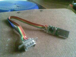 DIY CHEAPEST USB TO SERIAL CONVERTER – Achu's TechBlog