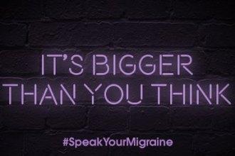 #speakyourmigraine