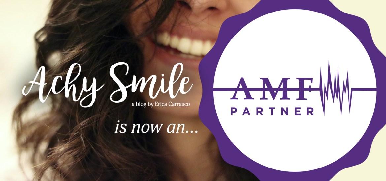 Achy Smile AMF Partnership Announcement