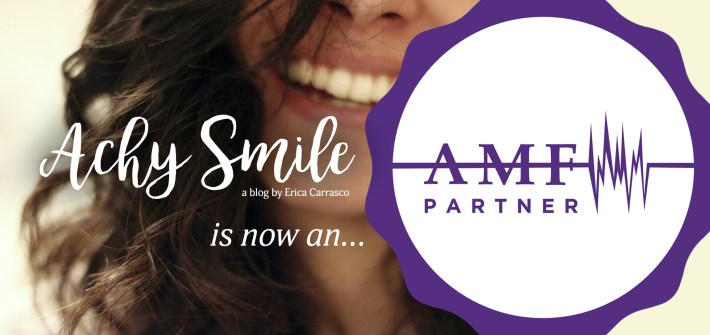 Achy Smile AMF Partnership Announcement
