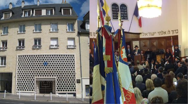 histoire de la Synagogue de Caen
