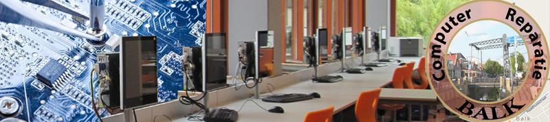 pc en laptop repareren in Balk