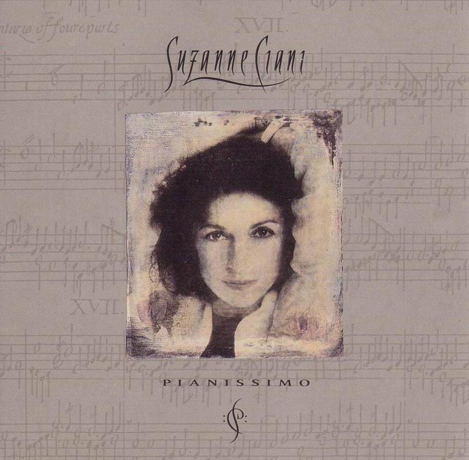 Album cover of Suzanne Ciani's Pianissimo
