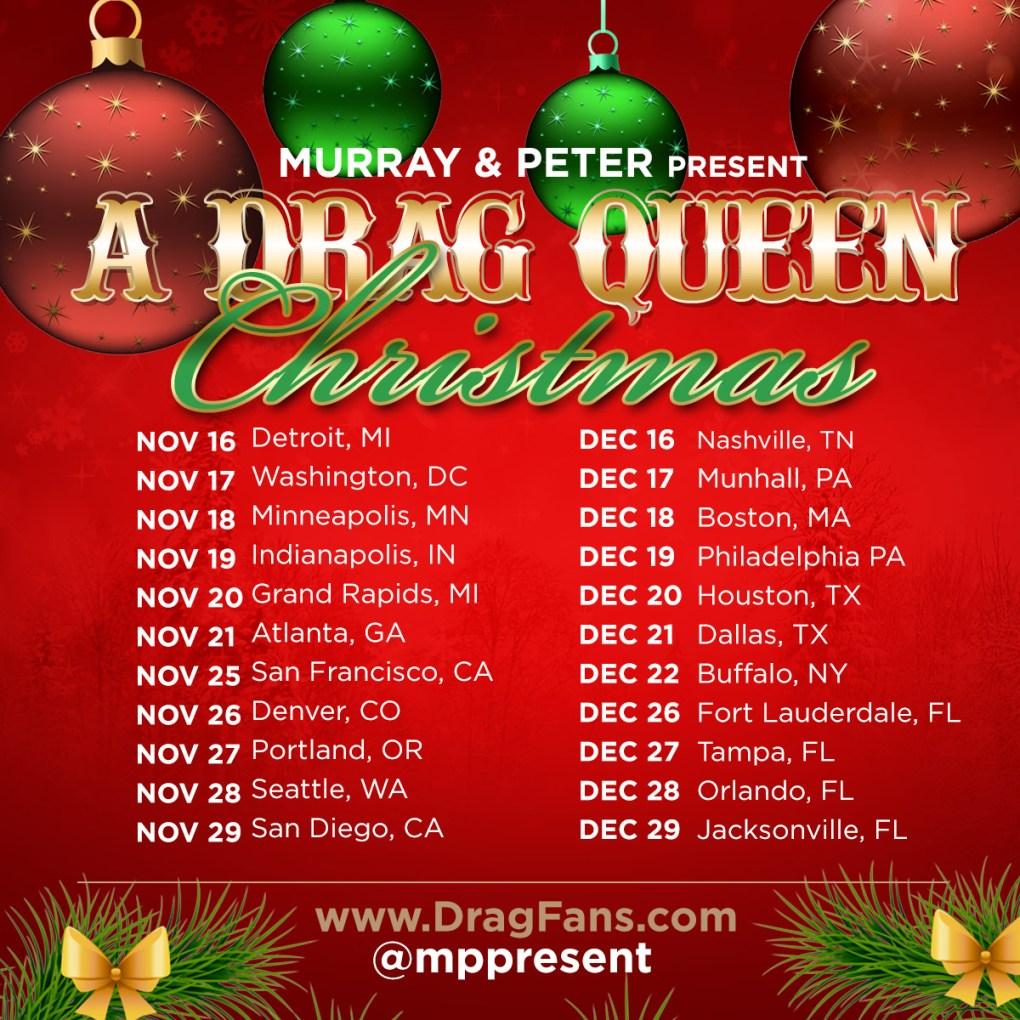 Drag Queen Christmas.Drag Queen Christmas Nashville Acid Betty New York