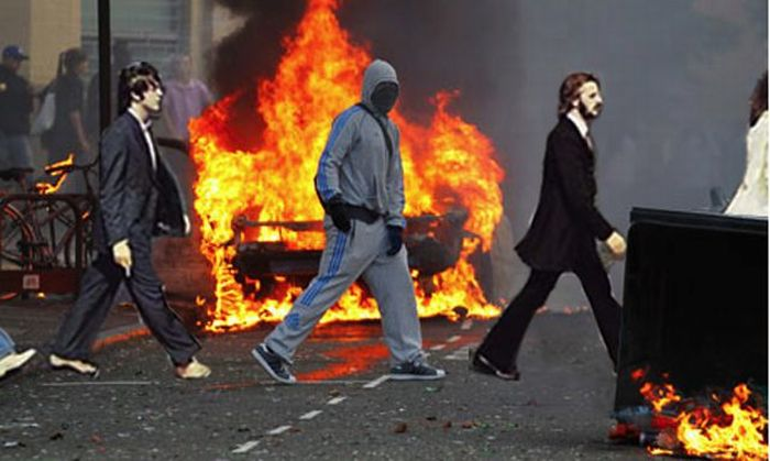 Very Funny Photoshopped Pictures of London Looters (46 pics)