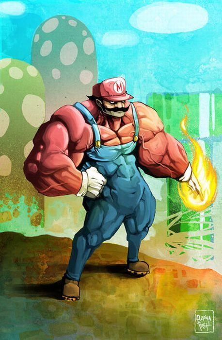 Super Mario Brothers Artworks (54 pics)