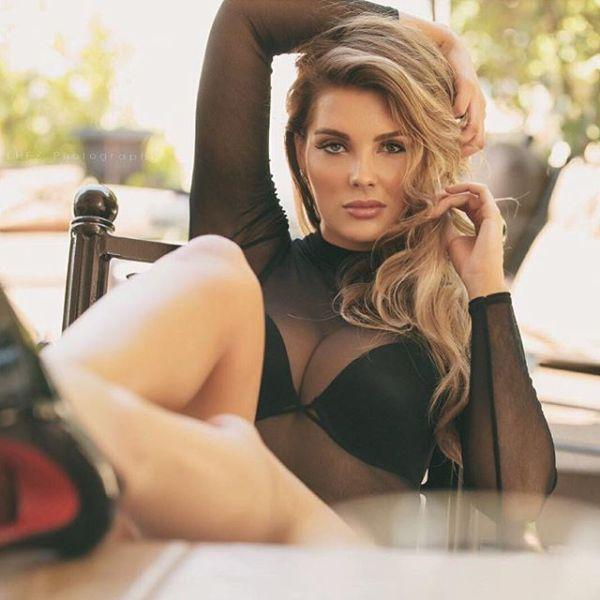 Playboy Model Sarah Harris Says Breast Implants Ruined Her ...