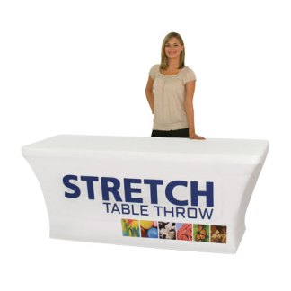 Printed Stretch Fit Table Covers For Folding Tables