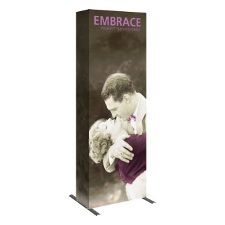 "31"" x 89"" EMBRACE Fabric Popup Exhibit"