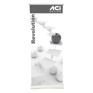 Revolution Premium Retractable Banner Stand Display