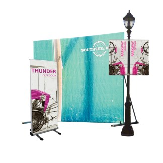 Outdoor Banner & Displays