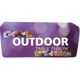 Custom Printed Outdoor Table Covers