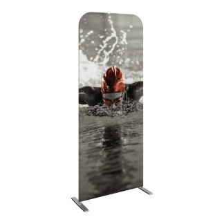 Tube Frame and Fabric Graphic Banner Stand