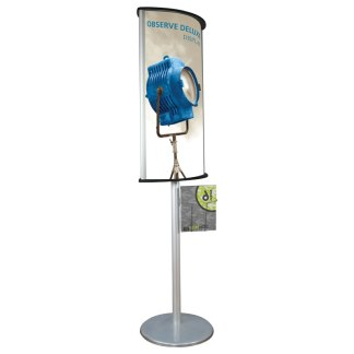 "24"" x 36"" OBSERVE DELUXE Poster Sign Display Stand"