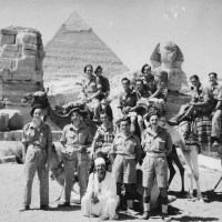 Royal Signals 1946/1947 in pictures - Part 1 - The Pyramids