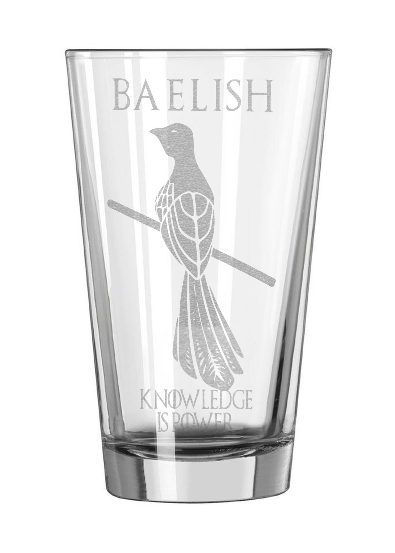 Game Of Thrones Pint Glass House Sigil Acid Ink Designs