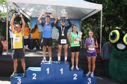 Categoria 40 a 44 anos masculino: 1º Jairo Ortega - 2º Écliton Pimentel - 3º Rogério Prado Feminino: 1º Rosiane Cristina - 2º Maria Hilário - 3º Eliane Real