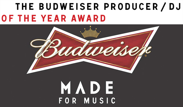 Budweiser - Producer/DJ of the Year Awards